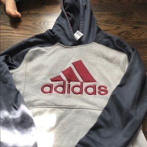 Adidas boys xl hoodie